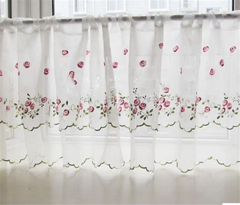 Purple Cafe Curtains Popular Lace Cafe Curtains Buy Cheap Lace Cafe Curtains