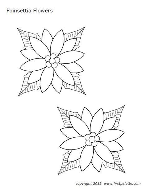 poinsettia leaves coloring pages 16 best christmas images on pinterest tool box toolbox