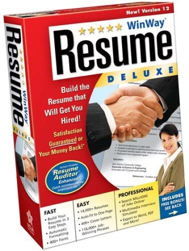 Winway Resume Deluxe 14 by Direct Winway Resume Deluxe 14 V14 00 014 Team Os