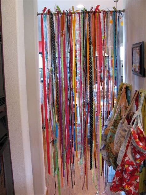 ribbon curtains for doors 25 best ideas about ribbon curtain on pinterest ribbon