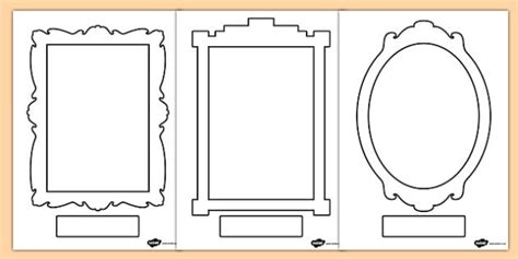 design a photo frame ks1 self portrait frames self portrait frames self portrait