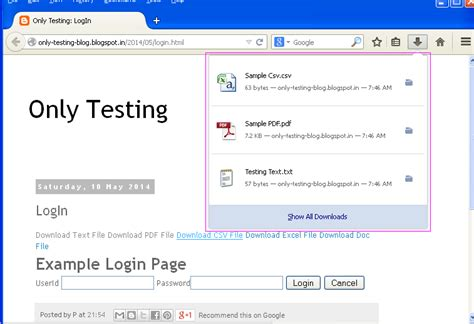 web testing tutorial pdf how to download different files using selenium webdriver