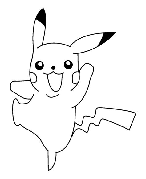 pikachu coloring pages free free coloring pages of and pikachu