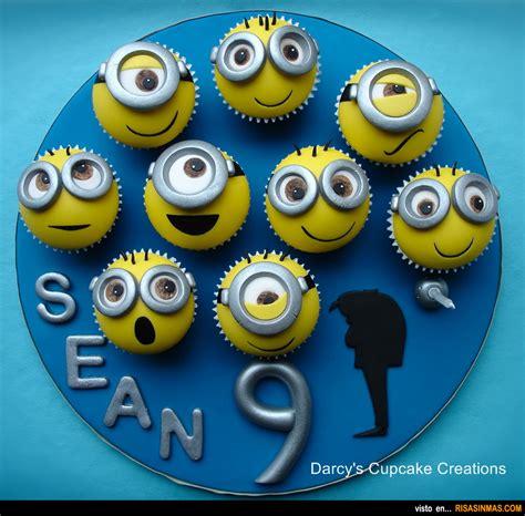 imagenes minions cupcakes cupcakes originales minions