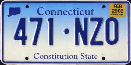Ct Vanity Plates by Connecticut