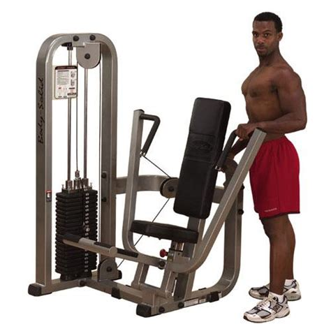 seated bench press machine zoom