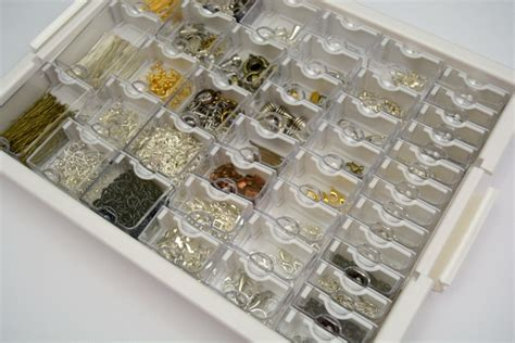 how to organize jewelry supplies crafts unleashed