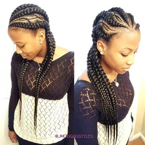 latest corn braids stylist feature love these cornrows styled by