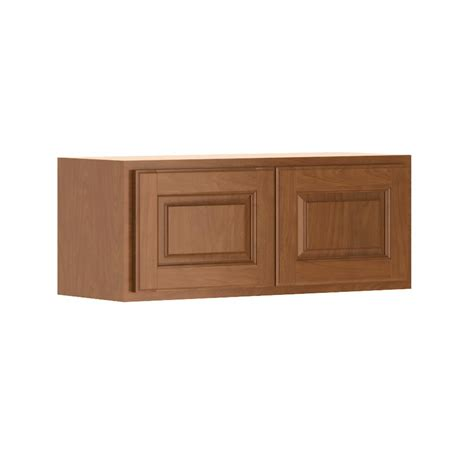 home depot unfinished wall cabinets hton bay 30x12x12 in wall bridge cabinet in unfinished
