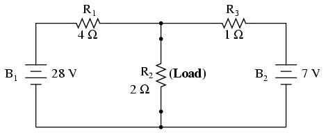 load resistor calc norton s theorem