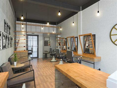 project dandy barbershop desain arsitek oleh archipelago