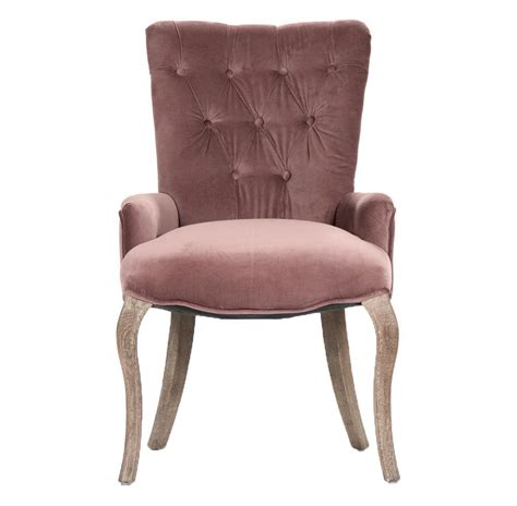 Velvet Tufted Dining Chairs Iris Tufted Mink Velvet Dining Arm Chair Kathy Kuo Home