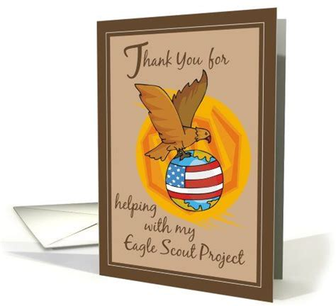 eagle scout thank you card template 173 best eagle ct of honor images on