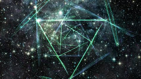 wallpaper abstract space space triangles walldevil