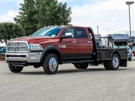 2013 DODGE RAM 4500 LARAMIE FLATBED TRUCK   Transwest
