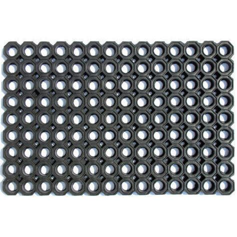 welcome mat material black hollow rubber door mat rs 120 mk decors