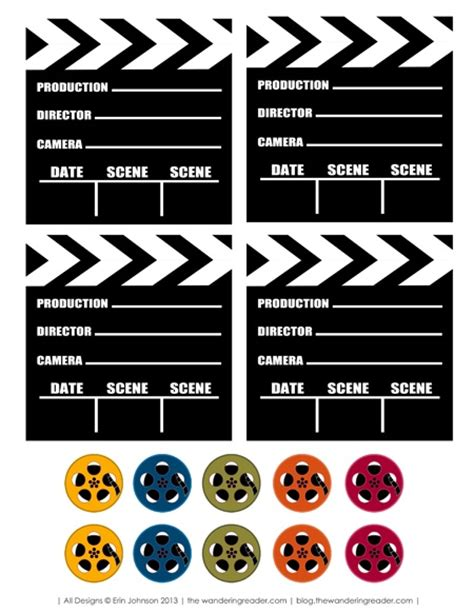 printable birthday invitations movie theme free 178 best hollywood themed classroom images on pinterest