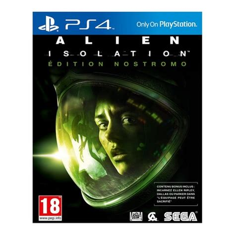 Promo Isolation Ps4 isolation edition nostromo ps4 top achat