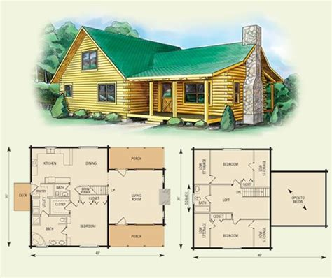 2 story log cabin floor plans carolina log home and log cabin floor plan 3 bed room