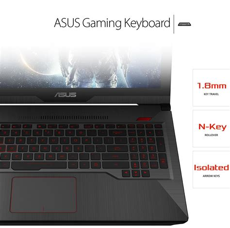 Keyboard Laptop Asus I5 asus fx503vd dm080t 15 6 quot gaming laptop intel i5 7300hq