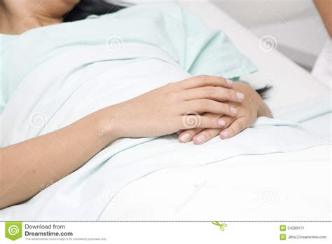 lying in my bed patient lying in bed stock image image 24280171