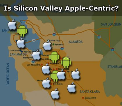 is silicon valley apple centric?   talkandroid.com