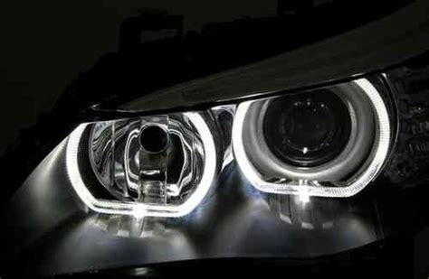 led le ringe 2 feux phare avant xenon led bmw serie 5 e60