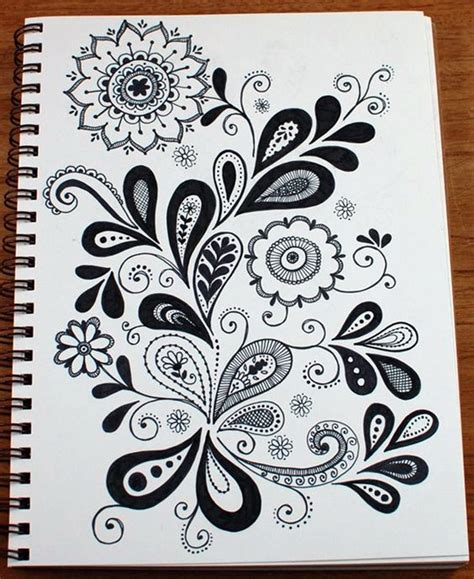 doodle drawing inspiration 45 creative doodle tutorials and exles