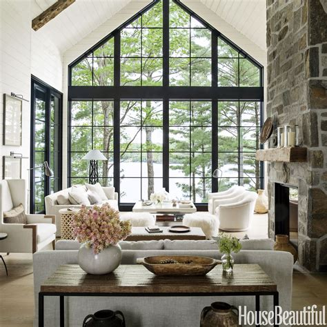home tour hepfer s rustic modern lake house
