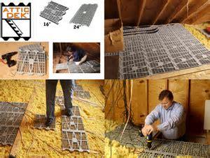 Attic Dek Flooring System Four (4) Pack 24 In. On Center Units