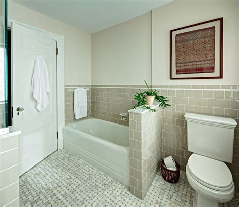 half bathroom designs brick tiles home interiors brick pattern tile bathroom contemporary with bathtub