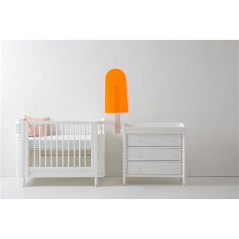 White Spindle Crib by Molly Vintage Modern White Wooden Spindle Crib Kathy Kuo