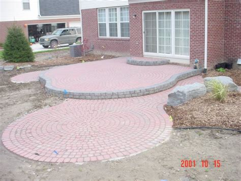 Raised Paver Patio Raised Brick Paver Patio Brick Pavers Pinterest