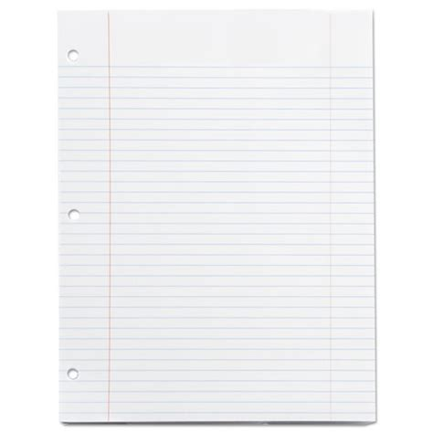 printable lined paper 8 1 2 x 11 filler paper 8 1 2 x 11 college rule white 100 sheets