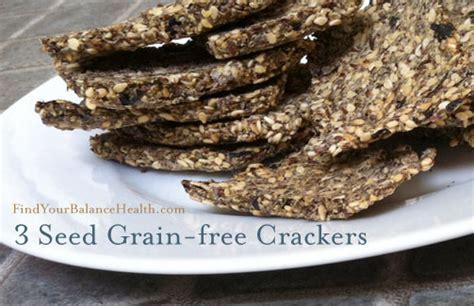 Detox Crackers 3 seed grain free crackers gluten free detox recipe 8