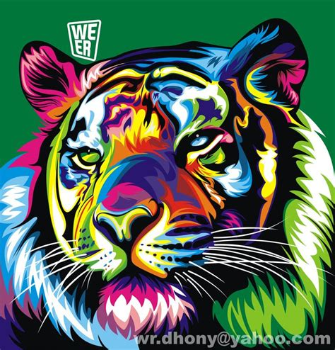 imagenes vectoriales illustrator tiger weer animales pinterest tigers