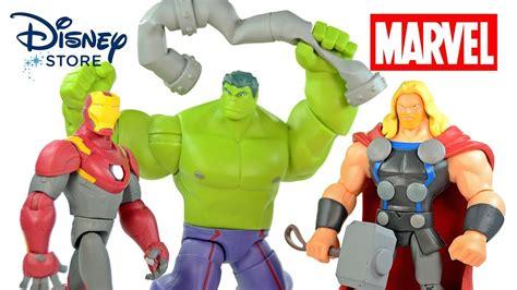 avengers iron man thor hulk marvel toybox disney store