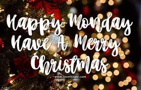 happy monday   merry christmas pictures   images  facebook tumblr