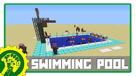 tutorial renang indonesia minecraft tutorial membuat kolam renang modern