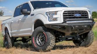 2015 up ford f 150 honeybadger front bumper w winch