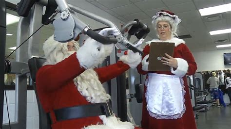 Backyard Bbq Cross Lanes Santa Mrs Claus Work Out To Prepare For Big Day Wbff