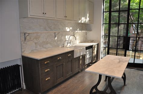 Backsplash With Marble Countertops by Absolute Plus Kitchen Absolute Plus Kitchen
