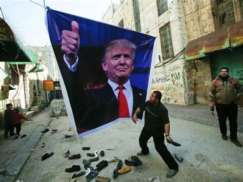 Donald Trump Palestine | donald trump backs two state solution but still wants