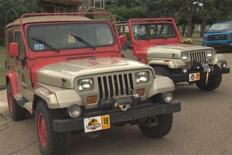 jurassic park jeeps jurassic park jeep replicas turn heads in edmonton