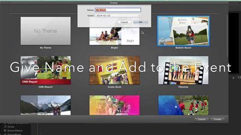 imovie tutorial adding music imovie 10 tutorial create movie in 3 minutes add theme