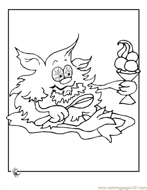 coloring pages cartoon monster coloring 3 cartoons