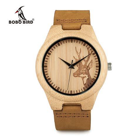 Jam Tangan Bambu Bobo Bird bobo bird jam tangan bambu analog wanita wn20 brown