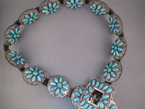 indian jewelry turquoise coral silver american belt