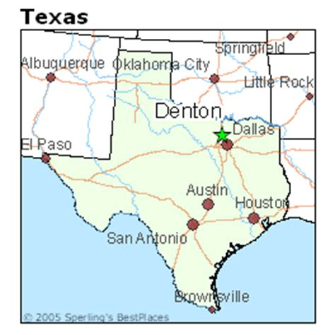 best places to live in denton, texas