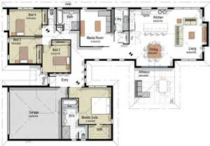 Houses Floor Plans by The Alexandria House Plan
